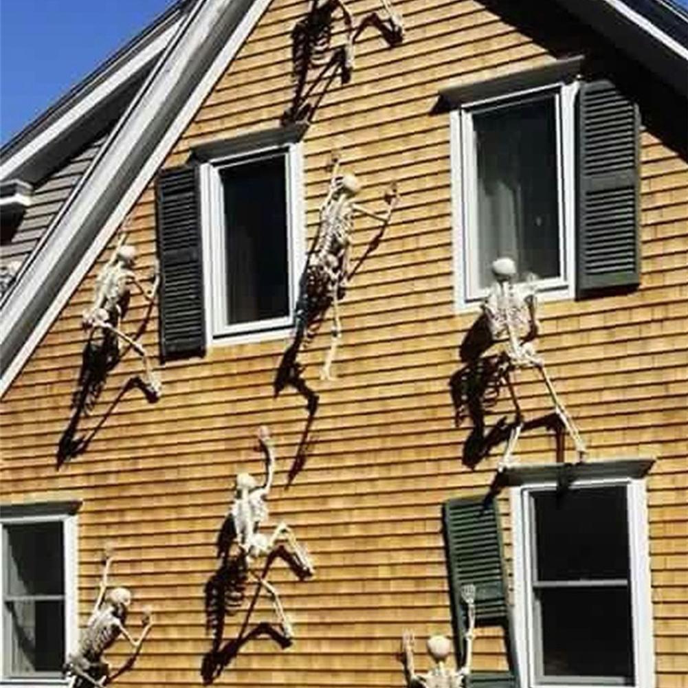 1pc 30cm/90cm life size halloween skeleton pvc fake human skeleton