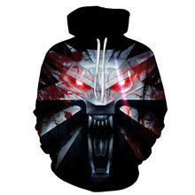 2019 3D Hoodies Men Hooded Sweatshirts Melted melt Skull Print Casual Pullovers Streetwear Tops  Hoody