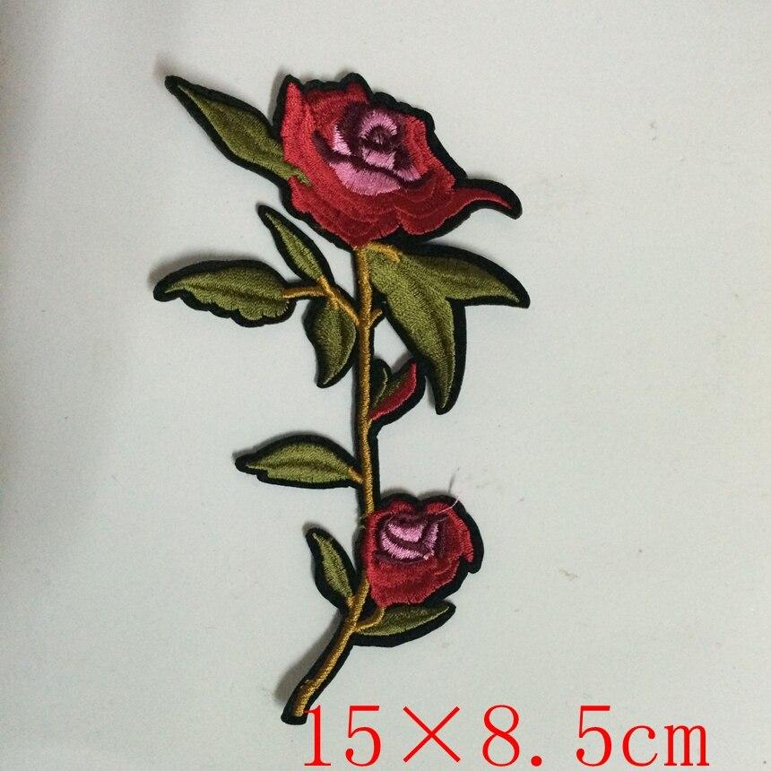 Pulsuz Göndərmə Yeni Moda Nice Flower Patch Geyimlər üçün - İncəsənət, sənətkarlıq və tikiş - Fotoqrafiya 3