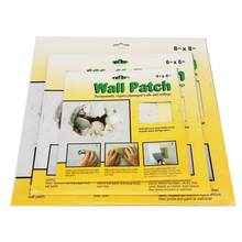 5Pcs 4X4 6X6 8X8 Inch Wall Repair Patch Fiberglass Fix Dry Wall Hole Ceiling Damages(China)