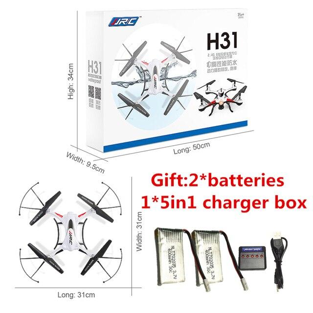 RC Drone JJRC H31 Водонепроницаемый Вертолет Может добавить с wi-fi камера или HD камеры профессиональный Дрон Вертолет RTF VS JJRC H37