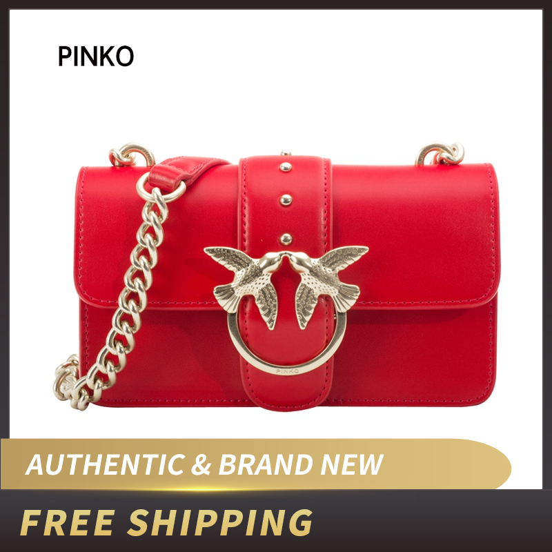 Pinko Women's Mini Love Simply 2 Tracolla Vitello Seta Shoulder Bag1P21DT Y5EU