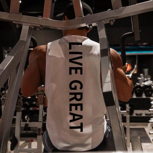 Brand Bodybuilding Stringer Tank Tops Sportwear Tanktops Fitness Men Gyms Clothing Sleeveless Shirt With Vest