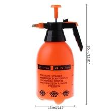Spray de pressão para lavagem de carro 2.0l, garrafa pulverizadora para limpeza automática de automóveis, alta resistência à corrosão
