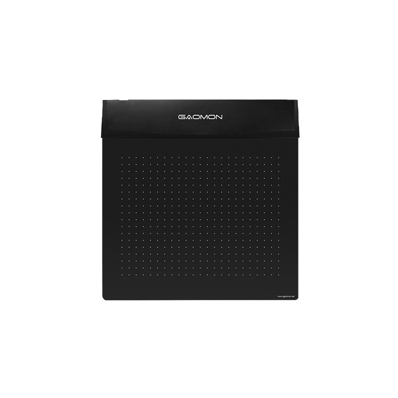 GAOMON S56K tableta de 6 x 5 pulgadas, tableta digital para juego OSU y dibujo Tableta de dibujo de diseño Flexible Mini USB, ¡diseñada en negro!