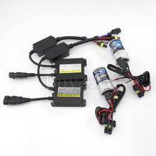 35W HID Xenon Conversion Kit Slim ballast Bulb H1 H3 H4 H7 H8 H10 H11 single beam 4300K 5000k 6000K 8000K for car headlight lamp