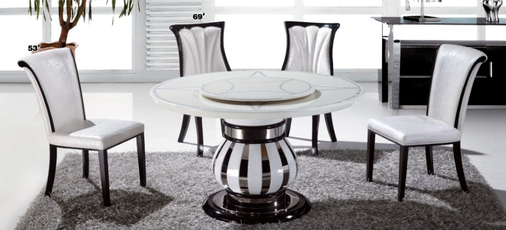 online get cheap stone round dining table -aliexpress