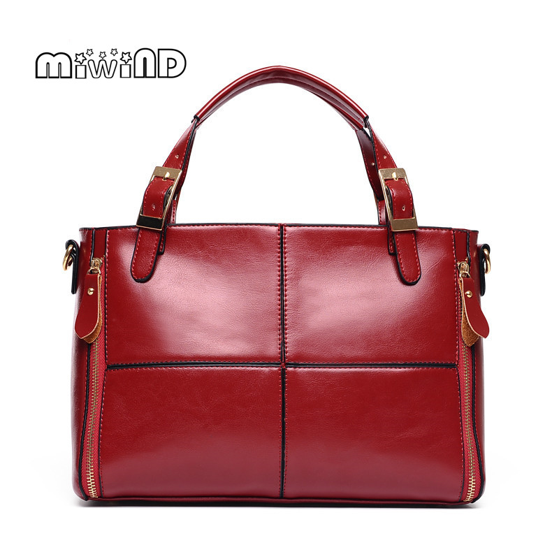 ФОТО MIWIND Luxury Handbags Women Bags Designer Leather Bags Women 2017 Fashion Handbag Women Messenger Bags Free Shipping