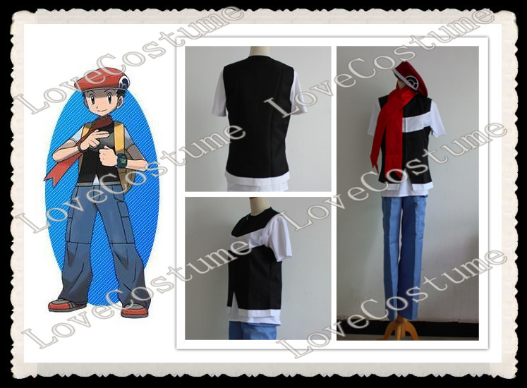 Pokemon Lucas Cosplay Costume Custom Made