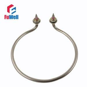 Image 2 - Нагревательный элемент из нержавеющей стали/меди 304, Электрический трубчатый нагреватель для открытого ведра