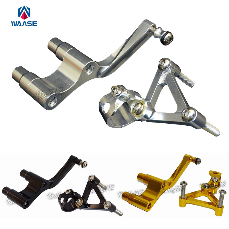 Motorcycle CNC Aluminium Steering Stabilizer Damper Mounting Bracket For Ducati DUCATI Monster 696 795 796 2008 2009 2010-2014