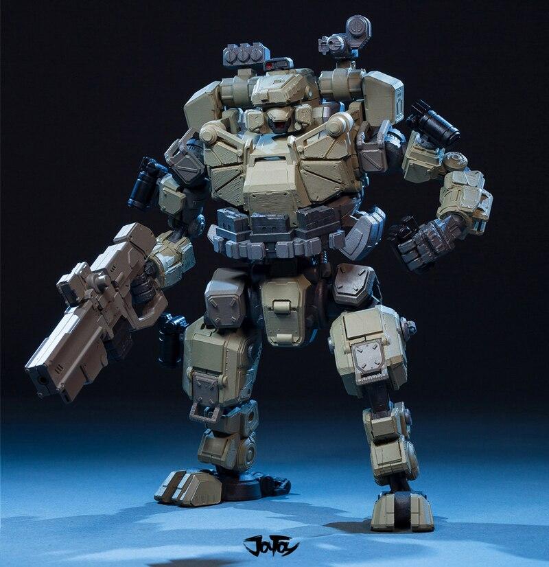 JOY TOY 1:25 фигурку робота мех модель TIEHAI TKO2 атакующих панцири, цвет разделительная сборка РОБОТ бесплатная доставка RE020