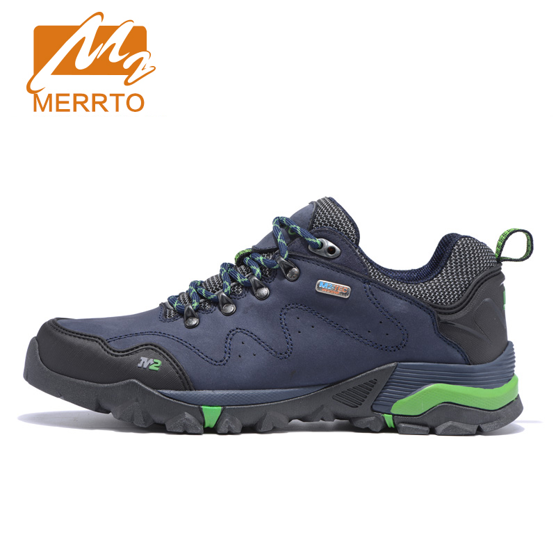 ФОТО MERRTO Outdoor Breathable Hiking Shoes For Men Waterproof Shoes Men Waterproof Hiking Shoes For Women Trekking Walking Shoes Man