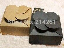Self-Adhesive Paper BOX Candy Boxes Wedding Favor Box 80x80x35mm Kraft Box /Gift Box Custom Logo Cost Extra MOQ: 1000PCS