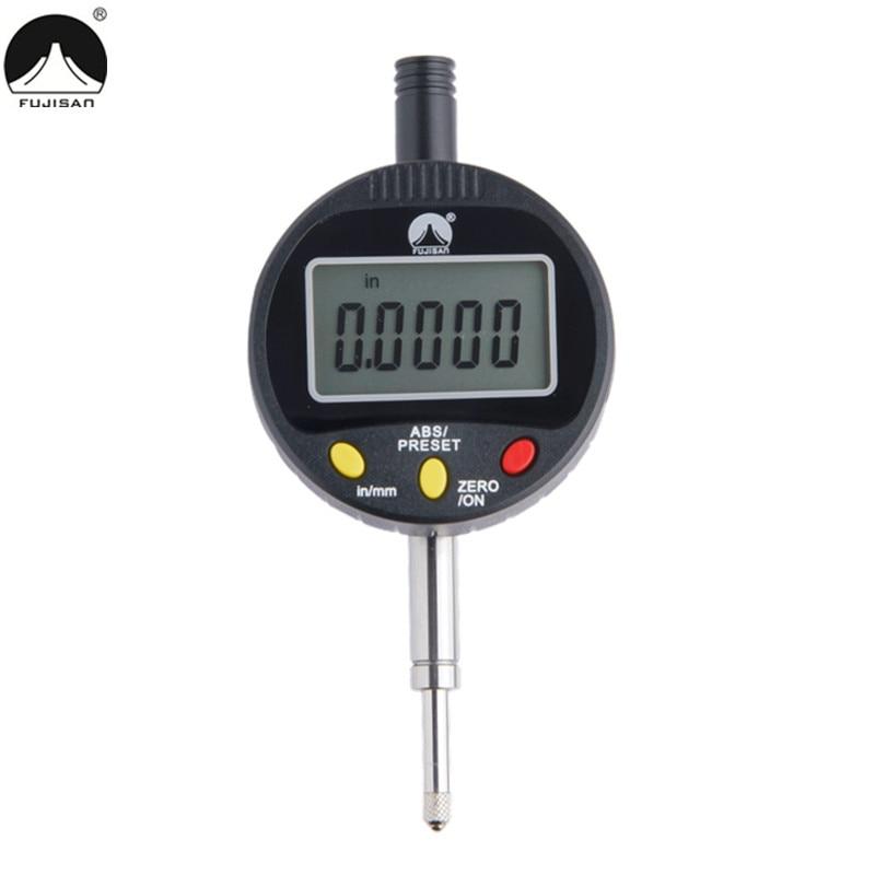 """""""FUJISAN"""" skaitmeninio rinkimo indikatorius 0–12,7 mm elektroninio skambučio matuoklio matavimo įrankiai"""