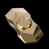 NEW Metal Copper EDC Fidget Toy Hand Spinner Finger Metal Fun Hand Game Spinning Top Toy