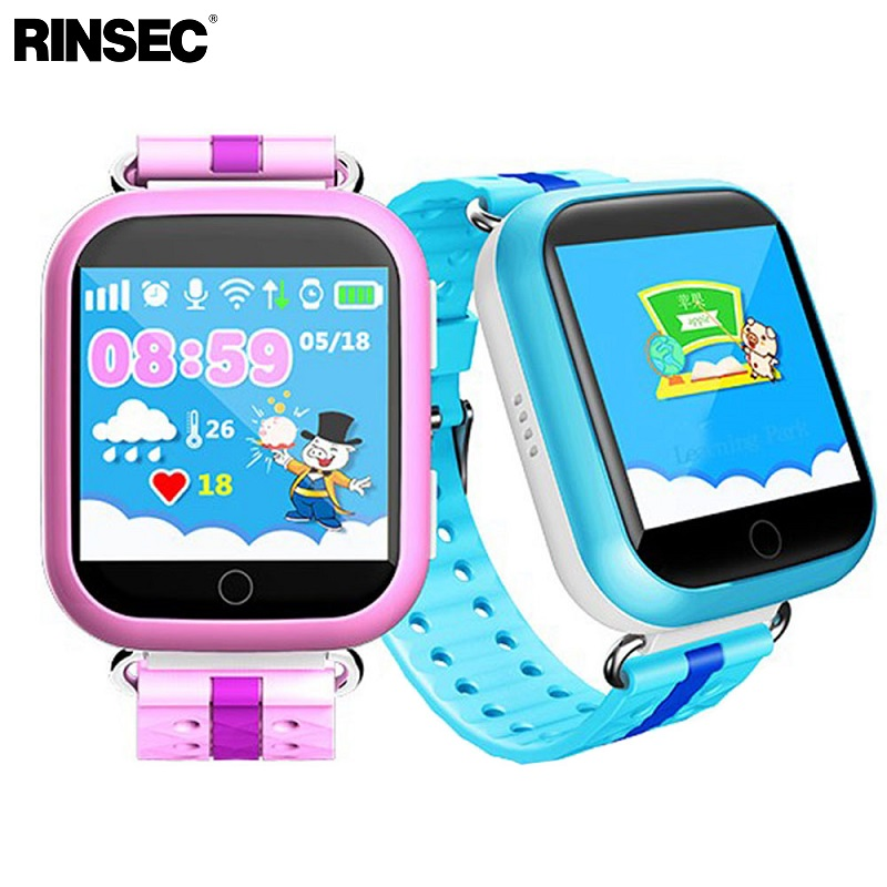 Rinsec Q750 Kid Smart Watch with GPS Tracker WIFI Touch Screen SOS Call Location Device Tracker