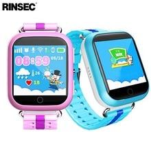 Rinsec Q750 малыш Смарт часы с GPS трекер WI-FI Сенсорный экран SOS вызова расположение устройства трекер для ребенка безопасной розовый синий