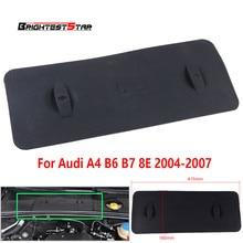 Черный автомобиль поддон для батарей Обложка для Audi A4 B6 B7 8E S4 2004 2005 2006 2007 8E1819422A 8E1 819 422A