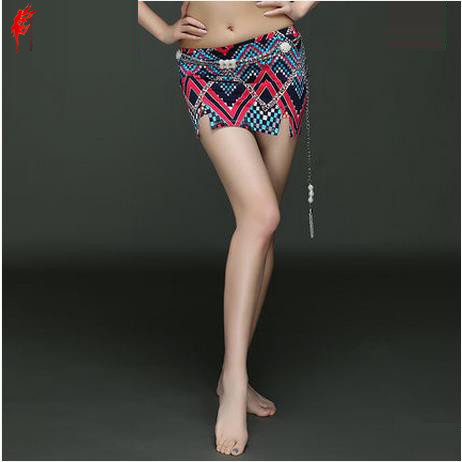 Sexy belly dance clothing hot sale printing belly dance skirt for women belly dance fashion skirt girls dance skirts S/M/L