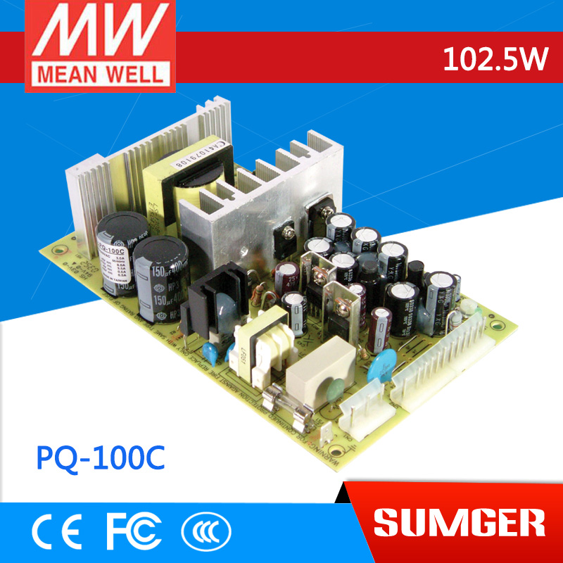 все цены на  3MEAN WELL original PQ-100C meanwell PQ-100 102.5W Quad Output Switching Power Supply  онлайн