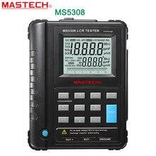 Mastech ms5308 lcr meter portable handheld auto gamma lcr meter ad alte prestazioni 100 khz