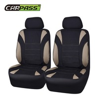 Car Pass Brand Universal Car Seat Cover 2 Front Seat Covers Fit For Bmw Hyundai Mazda