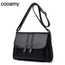 Damskie torby na ramię wysokiej jakości PU skórzane torebki dużego ciężaru cały mecz Crossbody Top torby z uchwytami powłoki torba