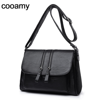 Women's Shoulder Bags High Quality PU Leather Handbags Tote All-match Crossbody Top-handle Bags Shell Messenger Bag hjkl new pu leather handbags high quality ribbon accordion bags multi function bag single shoulder messenger bag for women 2018