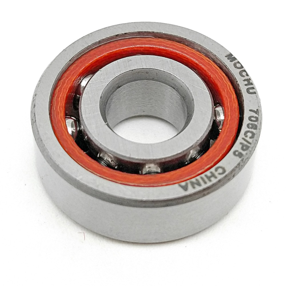 1pcs MOCHU 706 706C 706C/P5 6X17X6 Angular Contact Bearings Spindle Bearings CNC ABEC-5 15 Contact Angle