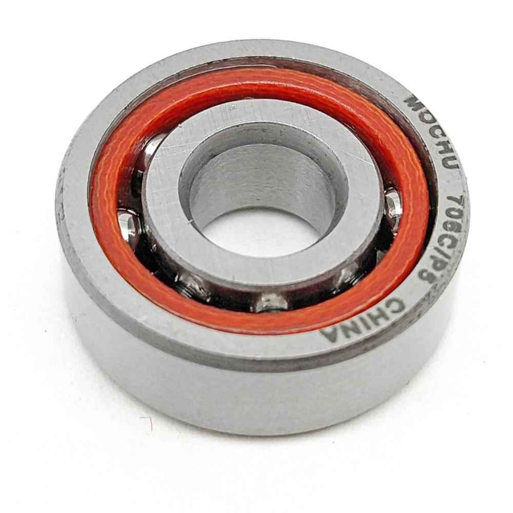 1pcs MOCHU 706 706C 706C/P5 6X17X6 Angular Contact Bearings Spindle Bearings CNC ABEC-5 15 Contact Angle