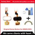 Aaa calidad! original inicio btton para meizu m3s flex de sustitución de cable para meilan 3 s huella digital