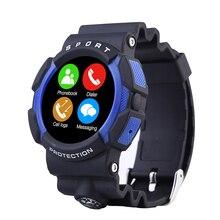 A10 Wasserdichte Outdoor Sport Smart Uhr mit Kompass Abenteuer Bluetooth Smartwatch Tragbare Geräte Für Apple IOS Android