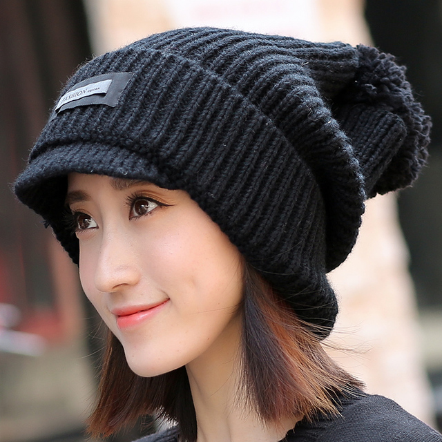 83f9f1ea31e 2017 Top Fashion Limited Winter Hat Mao Xianmao Winter Female Korean Fashion  Personality Knitted Hat Lady