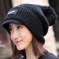 Mao Xianmao inverno feminino personalidade da moda Coreana Chapéu Feito Malha Senhora outono inverno quente ao ar livre chapéu feminino