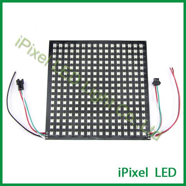 WS2812B SMD 5050 72leds programmable 16x16 rgb led matrix