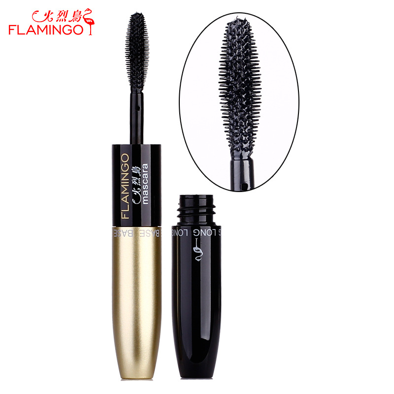Flamingo Mascara Nourish & Lengthening Double-ended Waterproof Non-blooming Thick Dual-heads Mascara 6208 image