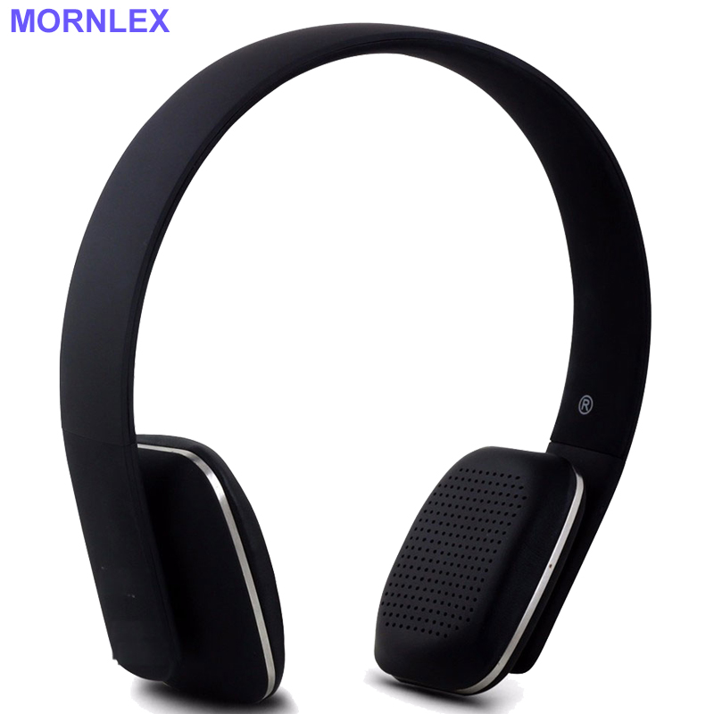 Bluetooth headphone headband wireless earphone stereo headset headphones with microphone for mobile phone Mornlex H2A kulakli k  rapoo h3070 2 4ghz wireless stereo headset headphone with microphone