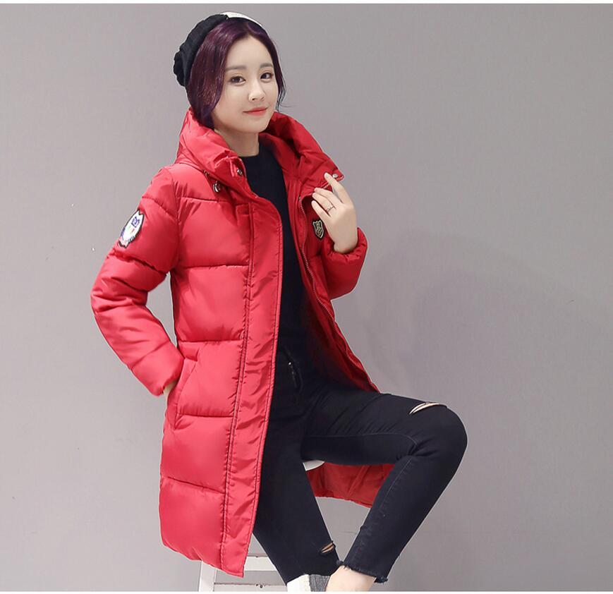 Outerwear Coats   jacket   2017 Women Winter   basic     jacket   Coat Cotton Winter   Jacket   Womens Outerwear fashion Women Outwear 62145