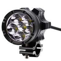 1PCS LED Motorcycle Headlight Bulb Motorbike Work Light 9 48V 30W 6500K White Scooters Fog Spotlight LED Moto Headlights