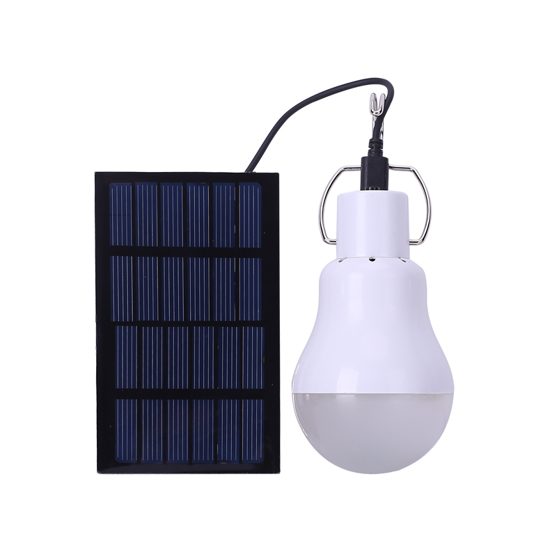 2017 New Useful Energy Conservation S-1200 15W 130LM Portable Led Bulb Light Charged Solar Energy Lamp Home Outdoor Lighting Hot