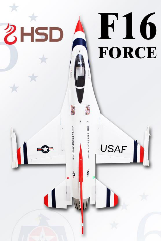 F16 Fighter 105mm Ptarmigan RC EDF JET Airplane EDF RC Fixed Wing Wingspan 1245mm EPO Airplane PNP/ARF/KIT