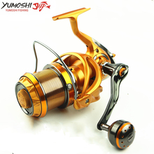 High Class Beautiful Gift Carbon Body 10BB Long Shot Spinning Fishing Reel 8000 9000 Metal Carp Line Coil