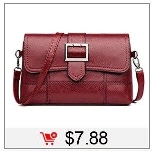 3ca286891caf1 Fashion Women Bag Leather Handbags PU Shoulder Bag Small Flap Crossbody Bags  for Women Messenger Bags