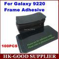 100 unids/lote Adhesivos marco de la Pantalla Para Samsung Galaxy i9220 nota $ number Freeshipping