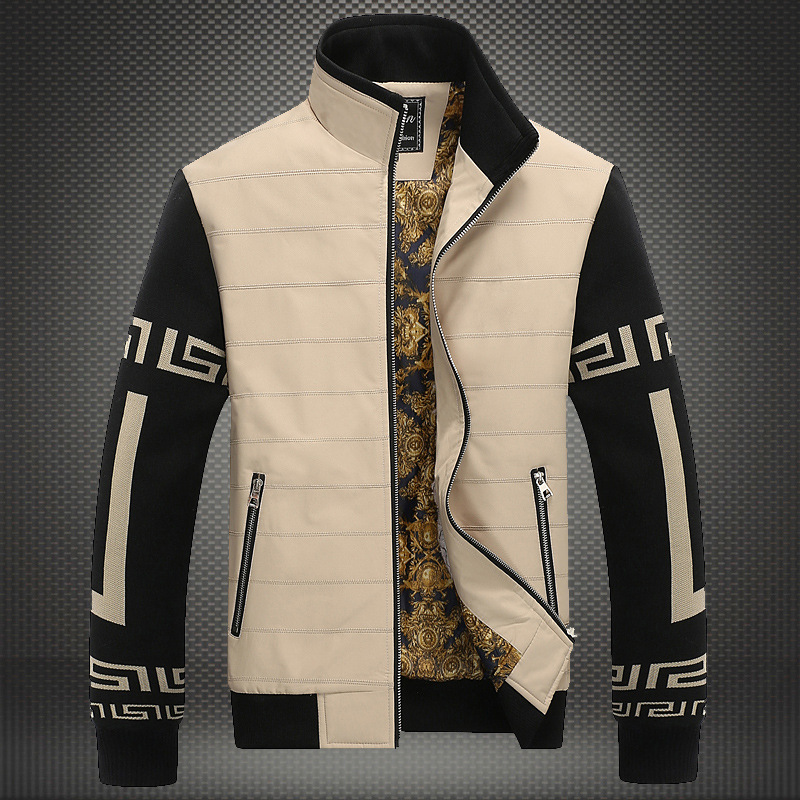Puls size Men's Jackets 2016 men Fashion jacket business casual ...