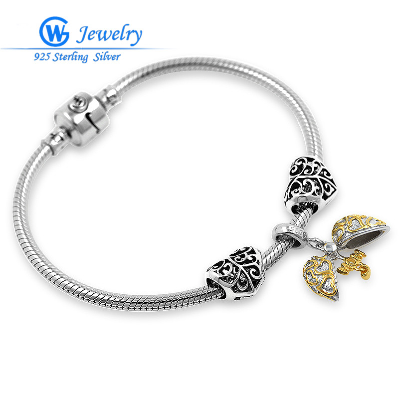 GW Brand 925 Solid Sterling Silver Fits Love and Wish цена 2017