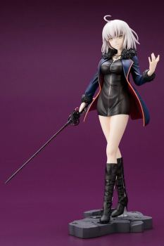 Fate Grand Order Black Stand Avenger Joan of Arc Jeanne d'Arc Alter Figure Collectible Model Toy