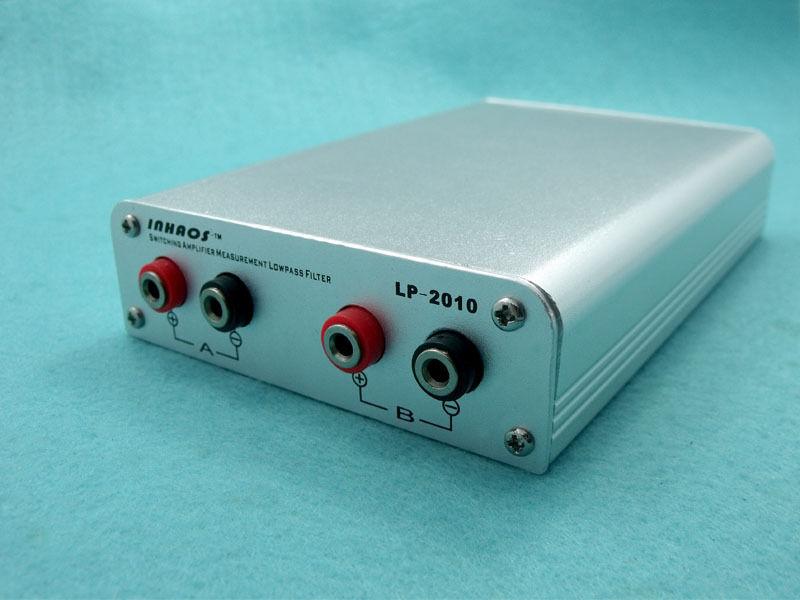 Inhaos Comutação Amplificador Passa-baixa Low-pass Filtro 2ch 4-pólos 30 Khz True Entrada Diferencial Lp-2010 Aes17 1998