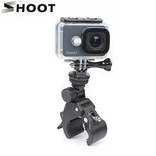 ยิงคลิปจักรยานผู้ถือMountสำหรับGoPro Hero 9 8 7 5สีดำXiaomi Yi 4K Dji Osmo sjcam Eken H9 Go Pro Hero 8 9อุปกรณ์เสริม